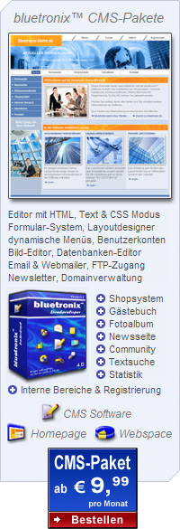 Homepage Software - Webpaket