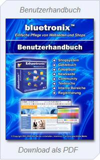 Handbuch zur Homepage Software
